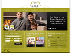 Horvath Homes' New Web Site